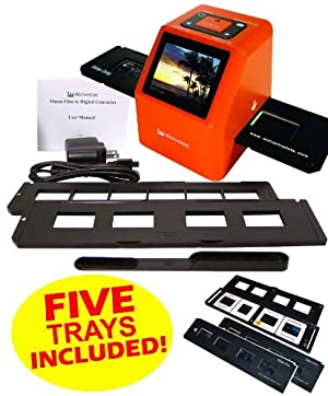 Wolverine F2D20 20 MP 35mm SLIDES and NEGATIVES to Digital Image Converter