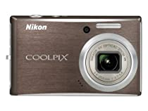 Nikon Coolpix S610 10MP Digital Camera with 4x Optical Vibration Reduction (VR) Zoom (Smoke Gray)