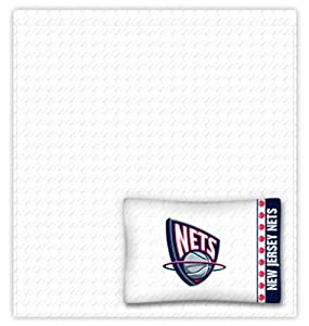 New Jersey Nets Full Sheet Set by Sports Coverage
