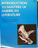 Introduction to Masters of American Literature