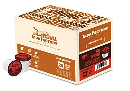 Java Factory Snjf5108-96 Da Bomb Coffee - 96 Count
