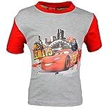 Dress-O-Mat - Camiseta de manga corta - Básico - Manga corta - para niño Grau Rot 8 años
