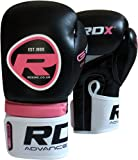 RDX Ladies Pink Gel Boxing Gloves Bag MMA Womens Gym Kick Pads Mitts Muay Thai P