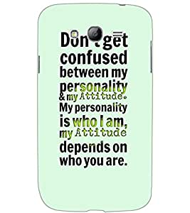 SAMSUNG GALAXY GRAND TEXT Back Cover by PRINTSWAG