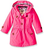Osh Kosh Baby Lined Trench Coat, Strawberry, 18 Months