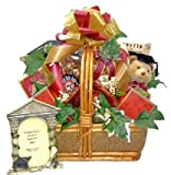 Gourmet Snack Food Basket for Grads – SIZE LARGE – High School or College Graduation Gift Idea