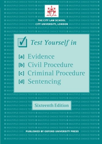 criminal procedure essay and multiple choice questions and answers