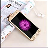 Johra High Quality 360 Protective Body Case Cover For Samsung Galaxy J7 (2016) (Gold)