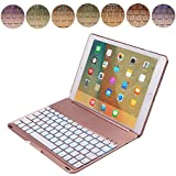 NiceEshop TM IPad Pro 9.7 Air 2 Backlit Keyboard Case ABS Stand Smart Cover With LED 7 Colors Backlits Bluetooth... - B01JYZPS2G
