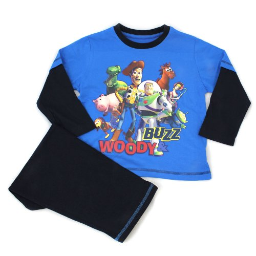 Toy Story Pyjamas - Navy Gang - From Age 18 Months to 6 Years