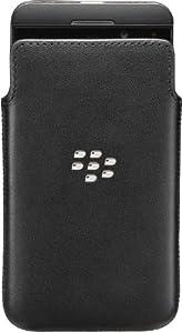 BlackBerry Leather Pocket for BlackBerry Z10 - Black