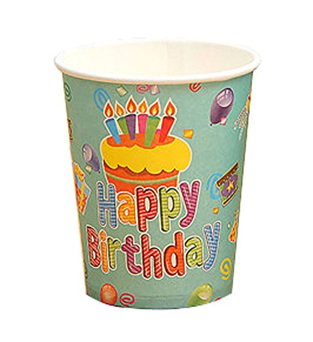 Birthday Party Pieces enfant 15 Drink Cups Party Decor