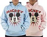 Mickey Mouse Women's Pullover Hoodie Sweatshirt