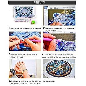 DIY 5D Diamond Painting Kit, 2 Pack Disney Princess Ariel Rapunzel Round Full Drill Crystal Rhinestone Embroidery Cross Stitch Arts Craft Canvas for Home Wall Decor Adults and Kids (Color: Disney Princess Ariel Rapunzel, Tamaño: 16X12)