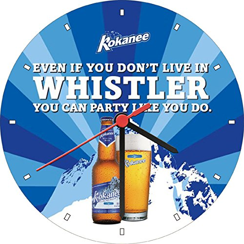 kokanee-glacier-beer-bottle-party-wall-clock