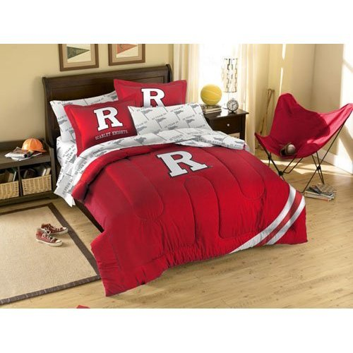 Fresh NCAA Rutgers Scarlet Knights Bedding Set Twin