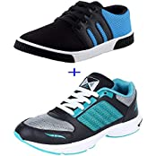SCATCHITE Combo Pack Of 2 Shoes (Sports Shoe + Casual Shoe)