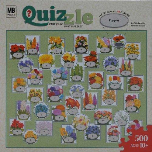 Quizzle Puzzle - Flowers: 500 Pcs