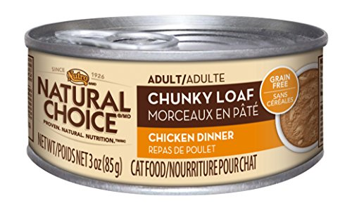 Nutro Natural Choice Adult Chunky Loaf Chicken Dinner - 24x3