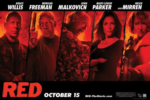 Red - Cast Poster - 61x91.5cm