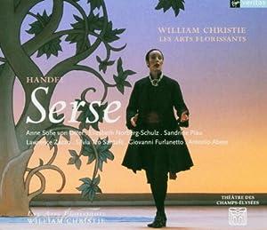 Handel - Serse / von Otter, Norberg-Schulz, Piau, Zazzo, Tro Santafe, G. Furlanetto, Abete, Les Arts Florissants, Christie
