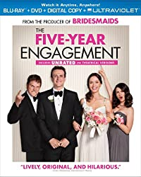 The Five-Year Engagement (Two-Disc Combo Pack: Blu-ray + DVD + Digital Copy + UltraViolet)