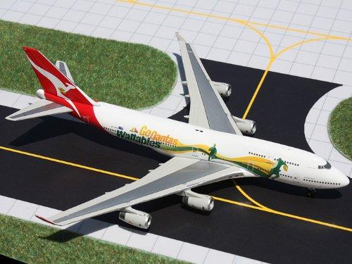 1: 400 ジェミニジェット Qantas ボーイング 747-400 Wallabies Colors (並行輸入)