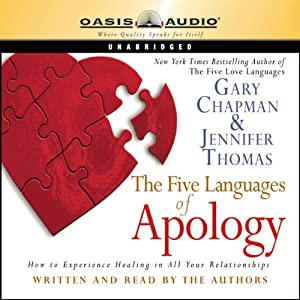 The Five Languages of Apology | [Gary Chapman, Jennifer Thomas]