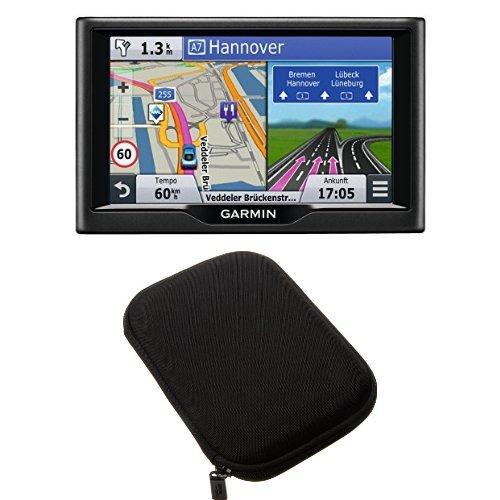 Garmin-nvi-LMT-Navigationsgert-lebenslange-Kartenupdates-Premium-Verkehrsfunklizenz-Touchscreen