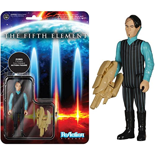 """The Fifth Element Funko ReAction 3 3/4"""" Action Figure Zorg"""