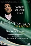 Image of Thomas Hampson in Recital - Voices of Our Time