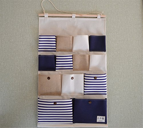 linen-cotton-blended-multi-pocket-wall-door-storage-pockets-13-storage-bag
