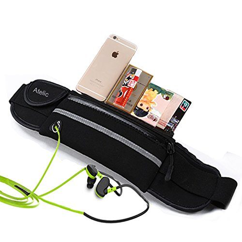 1-TOP-RATED-RUNNING-BAG-Atelic-Waist-Pack-Running-Bag-Belt-Pouch-Water-Resistant-Reflective-Runner-for-Running-Hiking-Trip-Pack-Fitness-Gym-Outdoor-Cycling-Apple-iPhone-6-Plus-Galaxy-s6