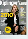 img - for Kiplinger's Personal Finance January 2010 Where to Invest in 2010 book / textbook / text book