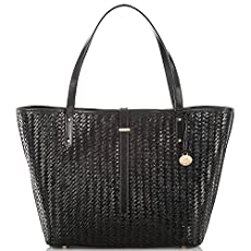 All Day Tote<br>Black Woven Luxe