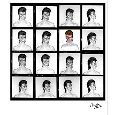 Aladdin Sane Contact Sheet by Brian Duffy (Limited Edition Print)