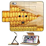 Luxlady Premium Apple iPhone 6 Plus iPhone 6S Plus Flip Pu Leather Wallet Case IMAGE ID 21431263 socket with corn concept for alternative source of energy