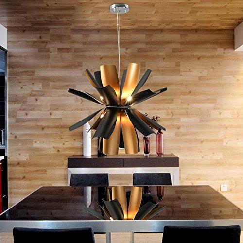 OOFAY LIGHT® Einfache Und Graziöse G9*12 Stücke Hängelampe Moderne Und  Kreative Hängelampe Für Esszimmer Stivolle Hängelampe (schwarz) Günstig