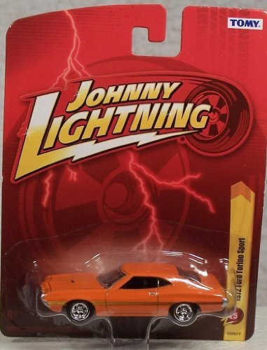 Johnny Lightning R25 1972 Ford Torino Sport Orange - 1