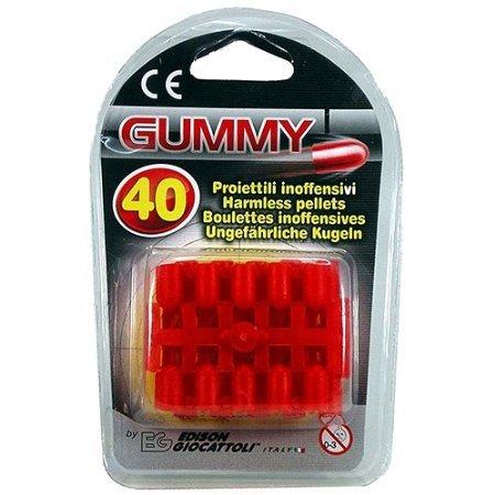 Edison Giocattoli Gummy Ammunition 40 Pk