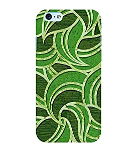 printtech Abstract Pattern Leaf Back Case Cover for Apple iPhone 6 Plus