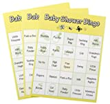 Baby Shower Bingo Game, 48 Piece