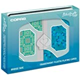 Copag Acqua Bridge Size Standard Index Clear Playing Cards