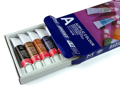 12 Colors Nail Art Paint Tube ...