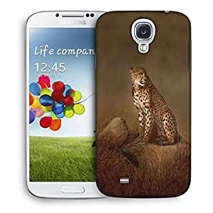 Snoogg Leopard Printed Protective Phone Back Case Cover For Samsung S4 / S IIII