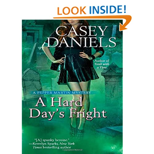 A Hard Day's Fright (A Pepper Martin Mystery)