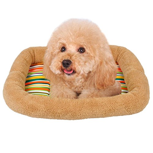 Oenbopo Soft Warm Cozy Pet Puppy Small Dog Cat Mat Nest Bed Blanket Cushion Kennel House