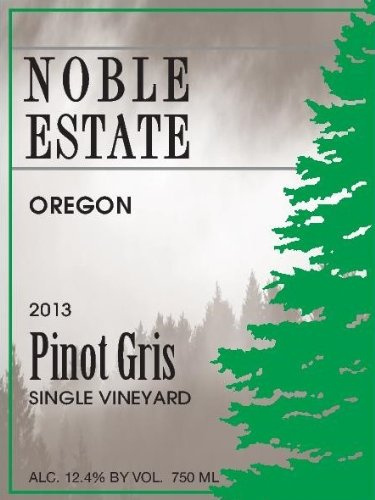 2013 Noble Estate Pinot Gris 750 Ml