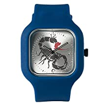 buy Navy Blue Fashion Sport Watch Tribal Scorpion