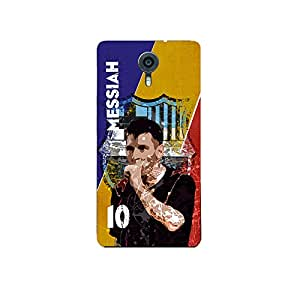 ezyPRNT Back Skin Sticker forMicromax Canvas Xpress 2 Lionel Messi Football Player